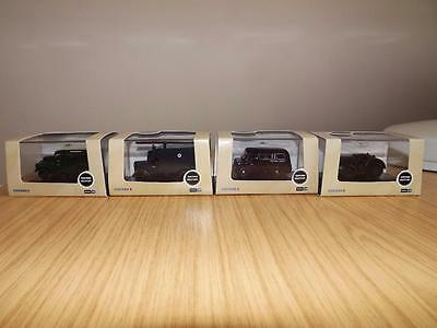 M94:  Oxford Discast Military Vehicles x 4 1:76 Scale MIB