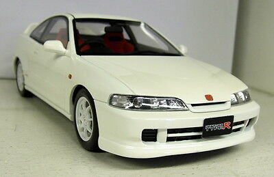 Otto 1/18 Scale Honda Integra Type R JDM DC2 White Resin cast Model Car