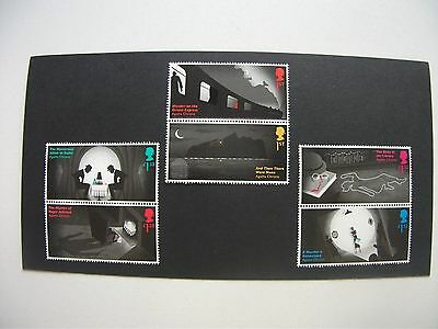 GB MINT STAMPS 2016 40th DEATH ANNIVERSARY OF AGATHA CHRISTIE SG3885/90