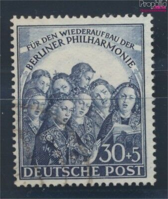 Berlin (West) 73 fine used / cancelled 1950 Philharmonic (8731809