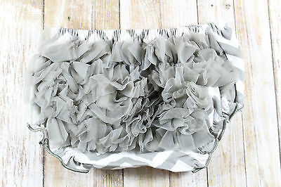 Baby girl diaper covers,gray diaper cover,kids underwear,ruffle diaper covers