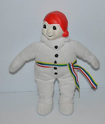 12 inch tall CARNAVAL QUEBEC Plush Doll Quebec Snow Bonhomme Carnival - rj