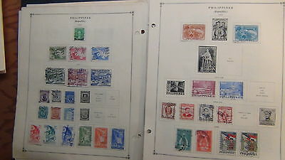 Philippines stamp collection on Scott International  pages to '94