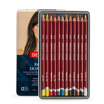 Derwent Pastel Pencil Set of 12 Skintones
