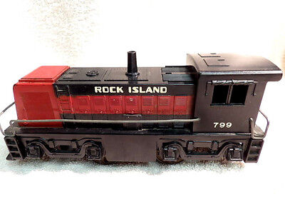 MARX O GAUGE No.799 SWITCH LOCOMOTIVE FOR PARTS OR REPAIR