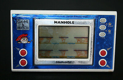 Nintendo Game & Watch MANHOLE Wide Screen - LCD Handheld vendu dans l état
