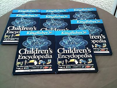 8 kingfisher childrens encyclopedia books