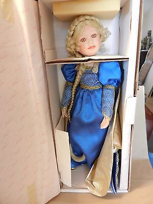 Marie Osmond Rapunzel Fine Porcelain Collector Doll #111 of 5000