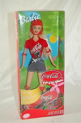 Barbie Coca Cola Coke 2001 Fun Skateboard #52717 *NIB*
