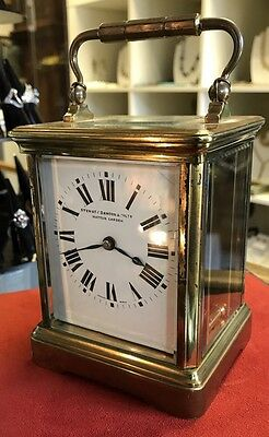 Good Quality Edwardian Brass Carriage Clock. Open To Offers.