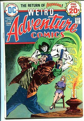 ADVENTURE #435 1974 Spectre-DC-Lady bound and gagged! FN