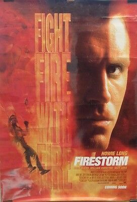 Scott Glen FIRESTORM(1998)Original rolled US one sheet movie poster UK POST FREE