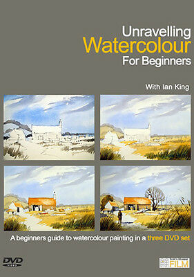 Townhouse DVD : Unravelling Watercolour for Beginners : Ian King