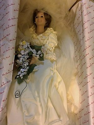 Danbury Mint - PRINCESS DIANA 1986 BRIDE DOLL