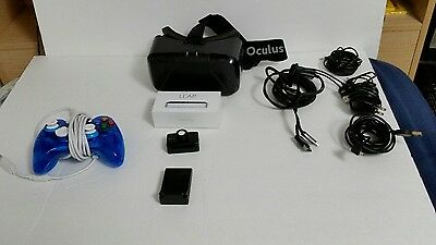 Oculus Rift DK2 With Psmove and Leap Motion