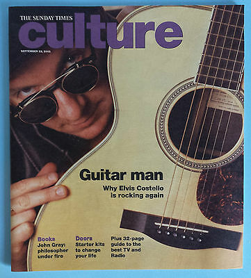 Elvis Costello Sunday Times Culture England Dec 22, 2002