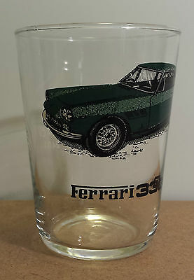 Ferrari 330 GT Vintage Juice Glass Engine Specs In French Sports Cars