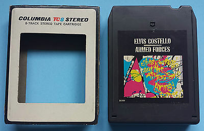 Elvis Costello Armed Forces Columbia 8-Track TC8 JCA 35709 1978 Riviera Global