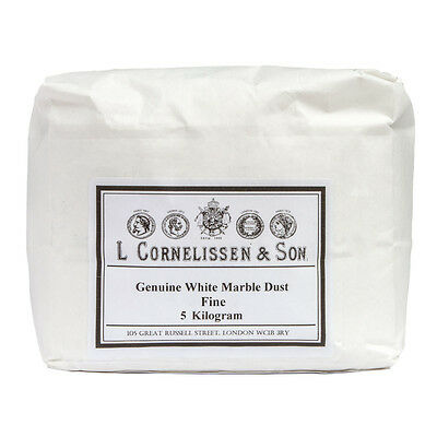 Cornelissen : Marble Dust Fine Grain : Genuine White : 5kg