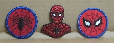 Spider-man 70's vintage embroidered patch set Marvel comics Stan Lee Steve Ditko