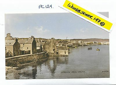 Lerwick From South.  Valentine's Postcard.  Unposted.  (PC124)