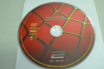 Spider-Man 2 (DVD, 2004, 1-Disc Special Edition Widescreen)Disc Only 4-78