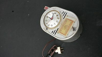 Vintage Dime-A-Wake Dime Wall Mount Alarm Clock