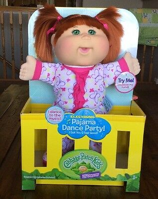 New Cabbage Patch Kids Lil' Dancer Pajama Dance Party Redhead