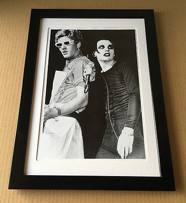 1994 The Damned Dave Vanian JAPAN magazine photo pinup mini poster FRAME 7r