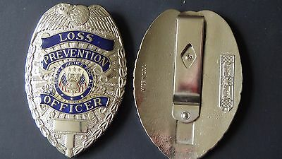 loss prevention Security Enforcement Officer SEO Money Clip BX O