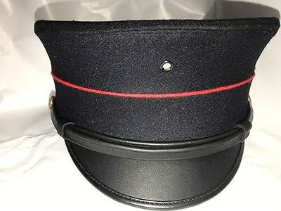 USMC P1912 Dress Blue Bell Crown Cap Size 7 1/2