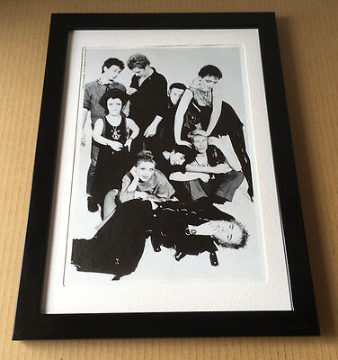 1994 Sex Pistols & Friends JAPAN magazine photo pinup / mini poster FRAMED s7r