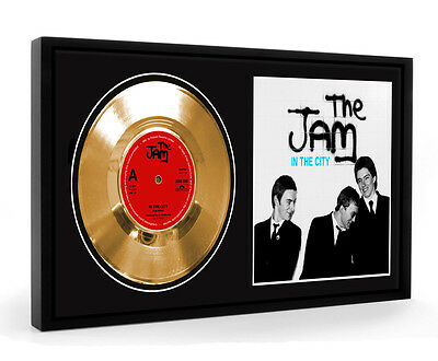 Jam In The City Framed Gold Disc Display Vinyl (LO)