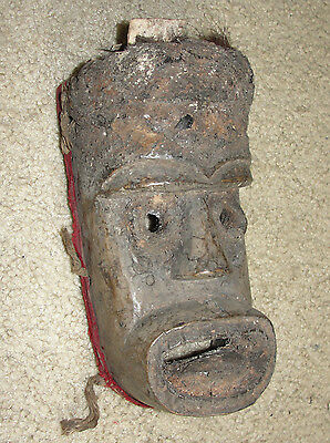 Very Old Ancient Africa Toma Loma Landai Dan Masque Mask Liberia Guinea African