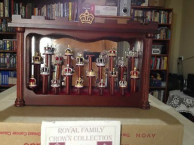 Royal Family Crown Collection, Minatures, Downies & Sherwood