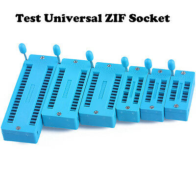 14/16/18/24/28/40 pin IC Test Universal ZIF Socket Hot