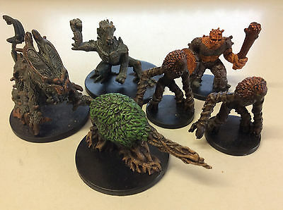 Dungeons and Dragons Forest Creatures includes Rare creatures miniatures x 6