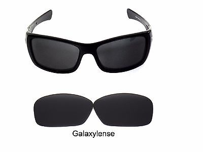 Galaxy Replacement Lenses For Oakley Hijinx Sunglasses Black Polarized 100% UVAB