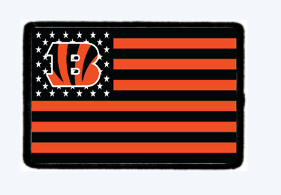 Bengals Morale Patch.... Hook and Loop. American Seller We Make Custom Ones
