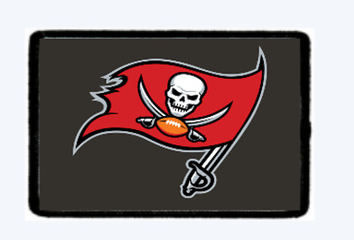 Buccaneers Morale Patch.... Hook and Loop. American Seller We Make Custom Ones