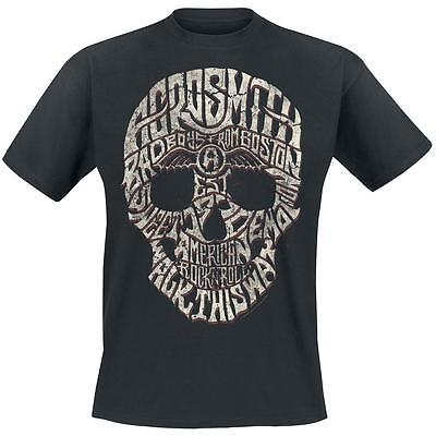 T-Shirt Aerosmith Skull T-Shirt Rfe Mc099
