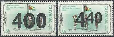 Timbres Scoutisme Guyana 710/1 ** lot 20846