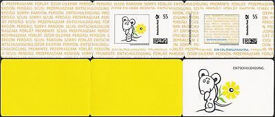 MARKE INDIVIDUELL PortoCard Sorry 6-seitig 2 x 55 C **