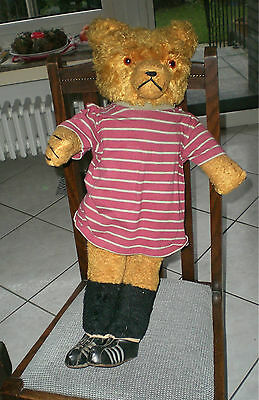 Big Schuco Football Teddy Bear Old Soccer