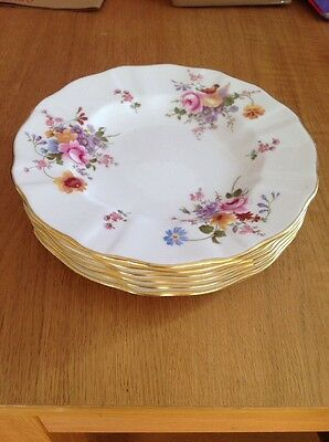 ROYAL CROWN DERBY 'Posies'Dinner Plates 6 Available Excellent Condition
