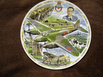 Mosquito LEGENDS OF THE AIR Royal Worcester Plate.Box Cert Ltd Edition of 2000