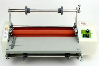 """For 13"""" Hot And Cold Four Rollers Roll Laminating Machine L"""
