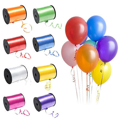 220m CURLING Balloon RIBBON for Gift Wrapping, Party Favors, Decoration, Florist