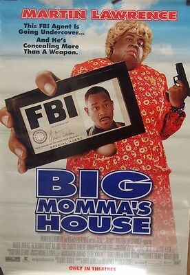 Martin Lawrence BIG MOMMAS HOUSE(2000)Original US rolled one sheet movie poster