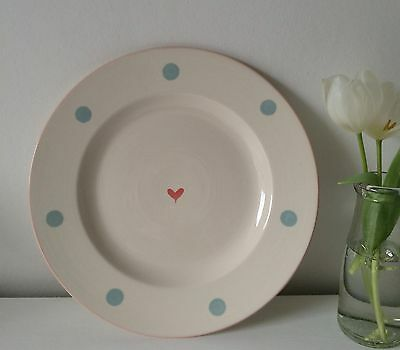 Susie Watson Designs Rare Hartley Greens & Co Leeds Pottery 'Oscar' Dinner Plate